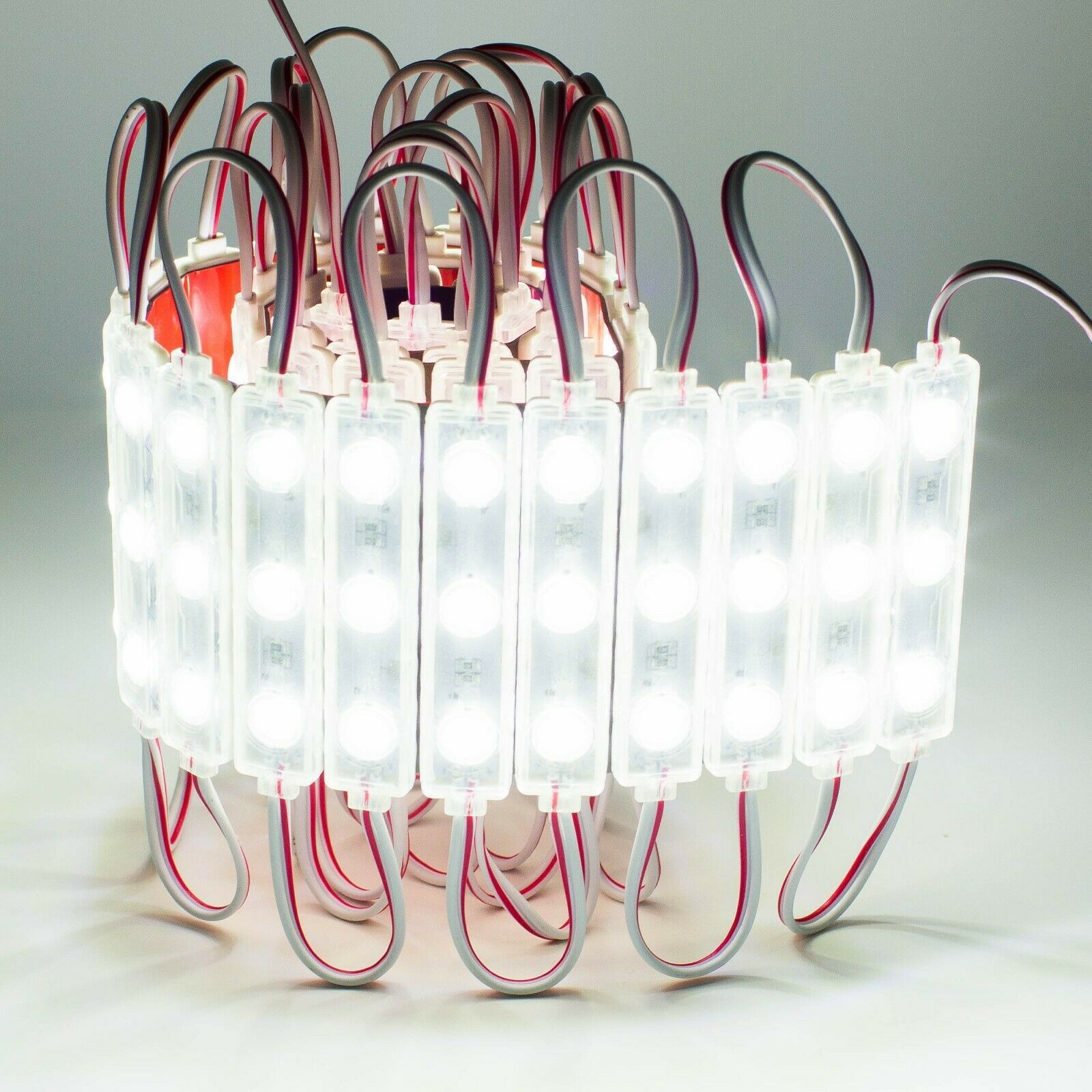 UL Power Supply Black Track LEDupdates Storefront LED Light White 6000K