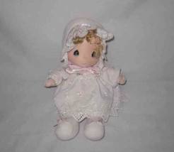 "So Cute Vintage 1985 12"" Musical PRECIOUS MOMENTS Cloth Doll Samuel Butcher - $48.20"