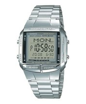 Casio DB360-1A 30 Page Multilingual Databank Men's Wrist Watch NEW - $31.95