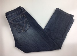 Womens DKNY Jeans Distressed Denim Cropped Capri Jeans Size 6 - $11.96