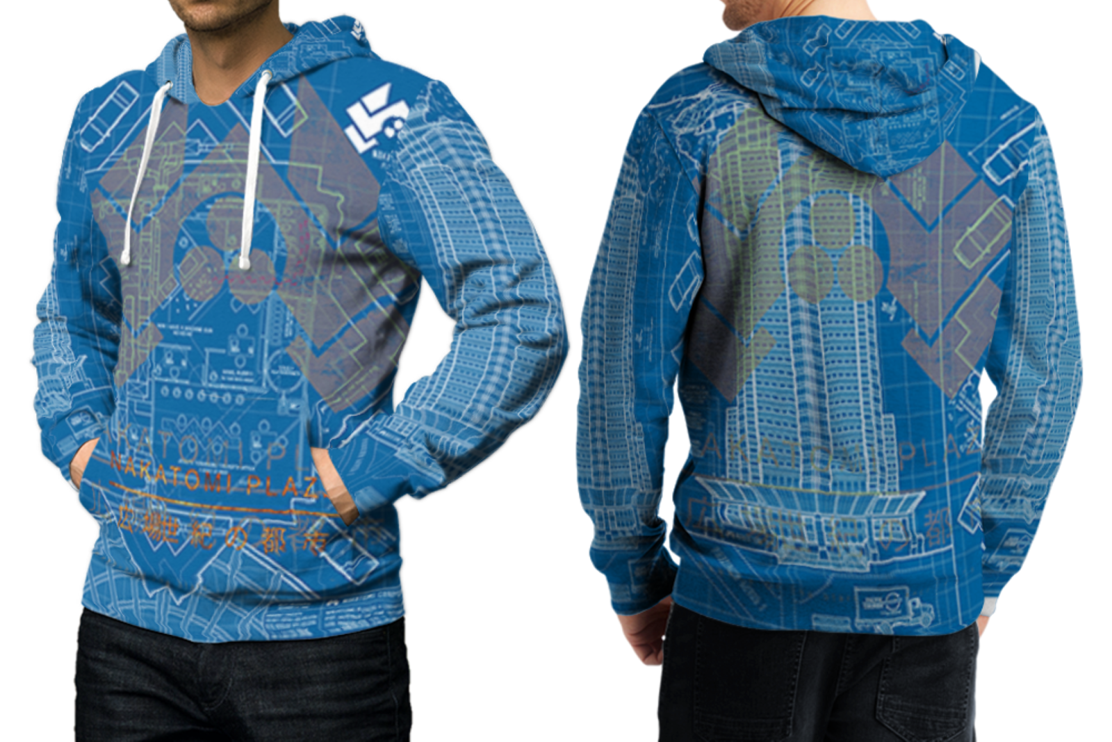 Primary image for DIE HARD NAKATOMI PLAZA Full print 3D All Over Print Pullover Hoodie For Men