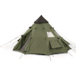 Camping Tent 6-Person Outdoor Family Shelter Hiking Cabin Waterproof Adv... - $148.39