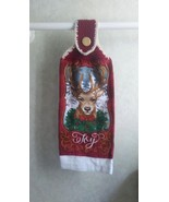 Western Style Christmas – Deer with Wreath - $3.25