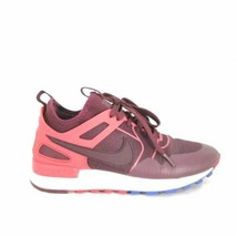 7 - Nike Burgundy & Pink Lace Up Cute Womens Training Sneakers Shoes 0209CM - $27.00