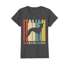 Vintage Style Italian Greyhound Silhouette T-Shirt - $19.99+