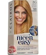 Clairol Nice 'n Easy MEDIUM GOLDEN BLONDE Hair Color ~ 8G - $19.99