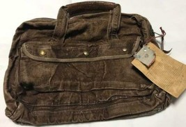 RRL RALPH LAUREN Hand Sake Linen Bag Brown With Tag Vintage Style Limite... - $1,148.00