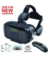 Galaxy S8 S8 Plus VR Headset 3D Glasses Virtual Reality With Headphones New - $61.57