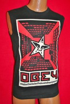 Obey Andre The Giant Distressed Sleeveless T-SHIRT S Shepard Fairey - $6.92