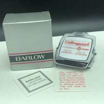 BARLOW MAGNETIC PAPER CLIP collingwood grain advertising Kansas Ryus Lak... - $17.82