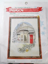Paragon Needlecraft Christmas Silent Night Georgia Ball NEW Crewel Embro... - $32.29