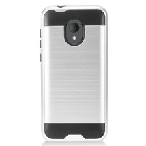 For Alcatel idealXtra / 1X Evolve Phone Case Cover Dual Layer Brushed Hard TPU - $8.09