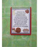 """Dieting"" Shiny Lucky Penny Magnetic or Tuck-in... - $4.00"