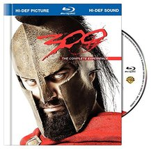 300 (The Complete Experience Blu-ray Book Packaging + BD-Live) (2009)