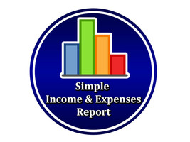 Simple Income And Expenses Report Software for Windows Computers PC Stat... - $12.36