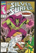 SILVER SURFER #37 Marvel Comics 1987 First Print NM- THANOS  - $20.00