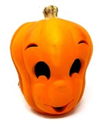 Trendmasters Halloween Casper Ghost Jack-O-Lantern Orange Lighted Foam P... - $26.98