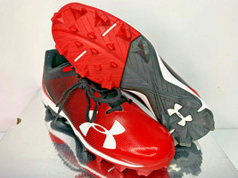 NEW SIZES 8 9 13 MEN Under Armour UA MLB Leadoff Low Molded Baseball Cleats Shoe - $34.99
