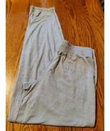 Champion women's activewear pants XL(14-16) gray straight leg elastic wa... - $12.16
