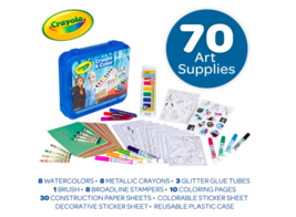 Crayola Frozen 2 Art Set, Arts & Crafts, Gift for Kids, Ages 5, 6, 7, 8 - $25.39
