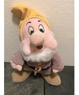 Vintage Disney Store Sneezy Plush Snow White Seven Dwarves - $14.57
