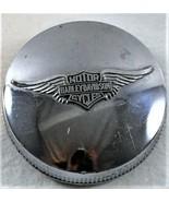 Harley Davidson Chrome Fuel Tank Gas Cap HD Motor Cycle Bike Hog Classic... - $69.29