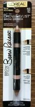 L'Oreal Paris Brow Stylist Brow Raiser Highlighter Duo 615 Light Pale, 0.16 oz. - $6.88