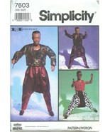 "Simplicity Vintage 1991 MC Hammer 12"" Doll Clothing Sewing Craft Pattern... - $23.99"