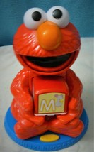 Sesame Street Elmo Find and Learn Alphabet Blocks Hasbro Talking Learning Toy - $28.46