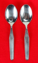 "2X Teaspoons Amefa AFS5 Stainless Glossy Holland Flatware 6 1/4"" Tea Spoon - $27.72"
