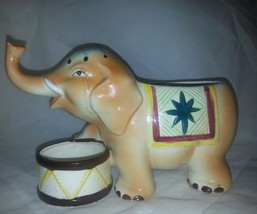 Circus elephant planter made in japan designed by HICKOK - $25.97