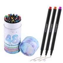 Bullet Journal Colored Fineliner Pens, Fine Tip Marker Fine Line Drawing... - $11.25