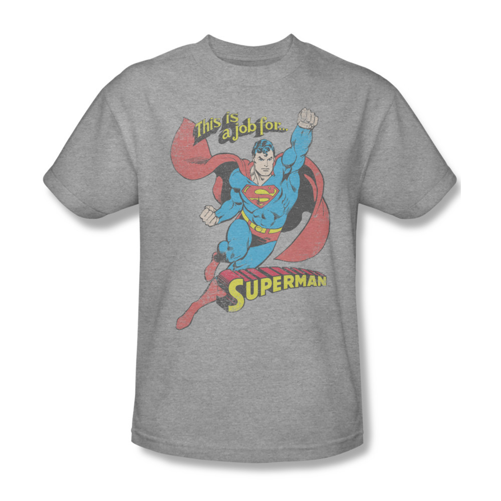 Dco538 at this is a job for superman dc comics superhero tee for sale online graphic t shirt