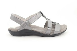 Abeo  Bea Braid  Pewter Sandals Size US  8 Neutral Footbed ( ) - $106.59