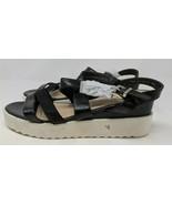Bestelle Women's Comfortable Strappy Wedge Sandal (Size 40 = US 9, Black) - $15.83