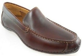 TIMBERLAND 74024 ANNAPOLIS MEN'S ROOT BEER LEATHER SLIP-ON BOAT SHOES - $64.99