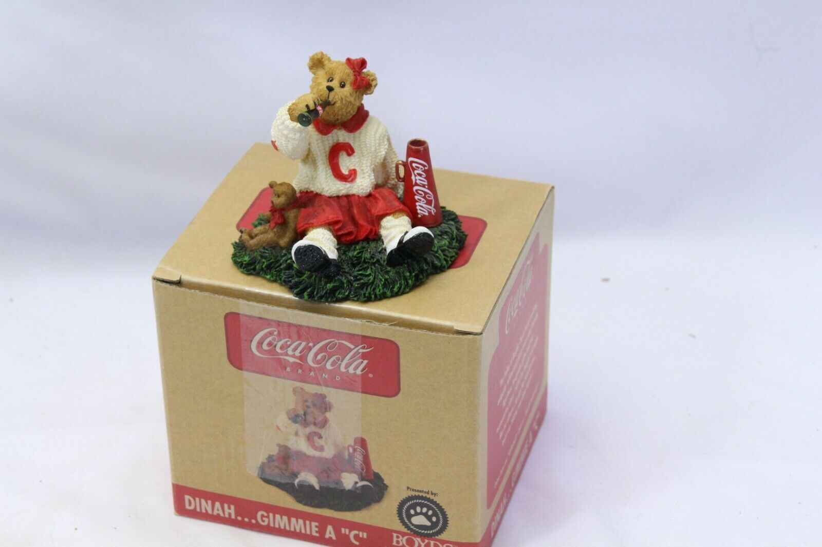 "Primary image for Coca Cola® Boyds Bearstone ""Dinah"" Licensed 1E/2399  2006 Retired Stock"