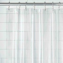 Clear Shower Curtain Liner Bath Water Proof Mold and Mildew Resistant 72... - $23.65