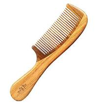 Elegant Handmade Premium Quality Comb Natural Sandalwood Healthy Hair Care Comb