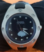 FOSSIL #PR-5102 Stainless Steel Case Runs Well - $19.79