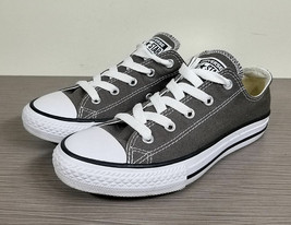Converse Chuck Taylor All Star Ox Sneaker, Charcoal Canvas, Big Kid Size... - $20.24