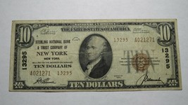 $10 1929 New York City New York NY National Currency Bank Note Bill! Ch.... - $130.89