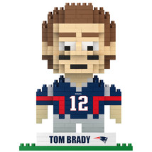 BRXLZ 3-D 3D CONSTRUCTION TOY TOM BRADY #12 NFL NEW ENGLAND PATRIOTS 421... - €13,58 EUR