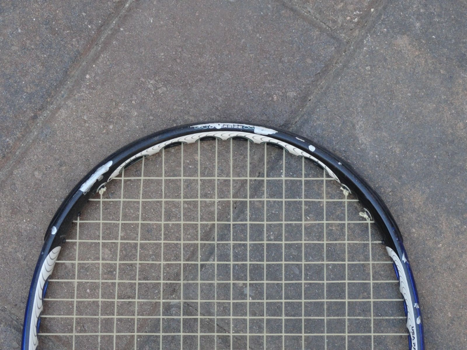 Prince Ozone o 3 Zone Four tennis racket used racquet