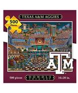 "Dowdle Folk Art ""Texas A&M"" Texas 500 Pc Jigsaw Puzzle 16x20 NEW - $27.99"