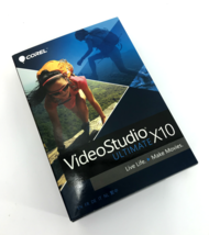 Corel VideoStudio Ultimate X10 for Windows 7/ 8/ 10 #0193 - $22.57
