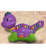 Leap Frog Dinosaur ABCs Musical Interactive Purple Toy Lettersaurus For ... - $13.85
