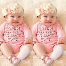 Newborn Kids Baby Infant Boy Girl Cotton Bodysuit Romper Jumpsuit Outfit... - $20.30