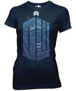 Auténtico Dr Doctor Who Tardis Logo de Palabras Sci-Fi Bbc Tv Júnior Jrs... - $18.84