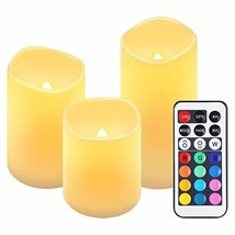ORIA Flameless Candles, Led Candle Lights, Tea Lights, Battery Operated ... - $14.12